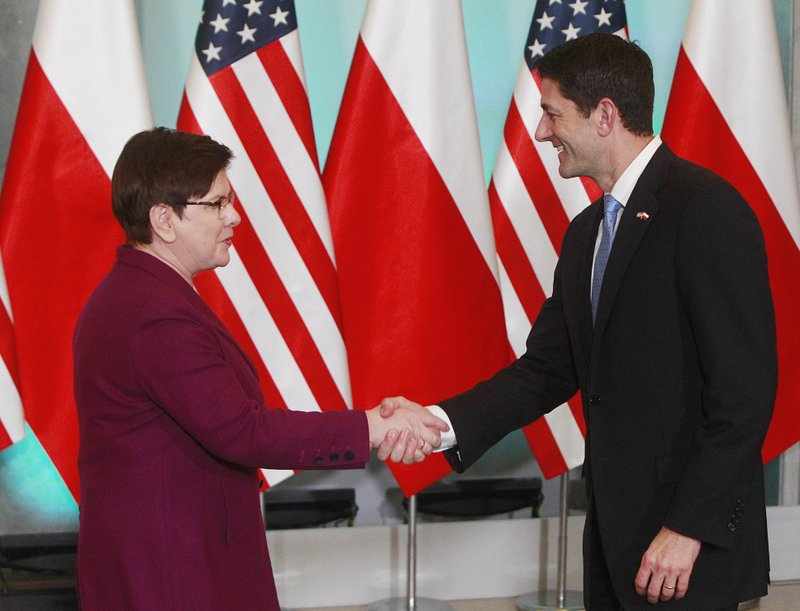 Beata Szydlo, Paul Ryan