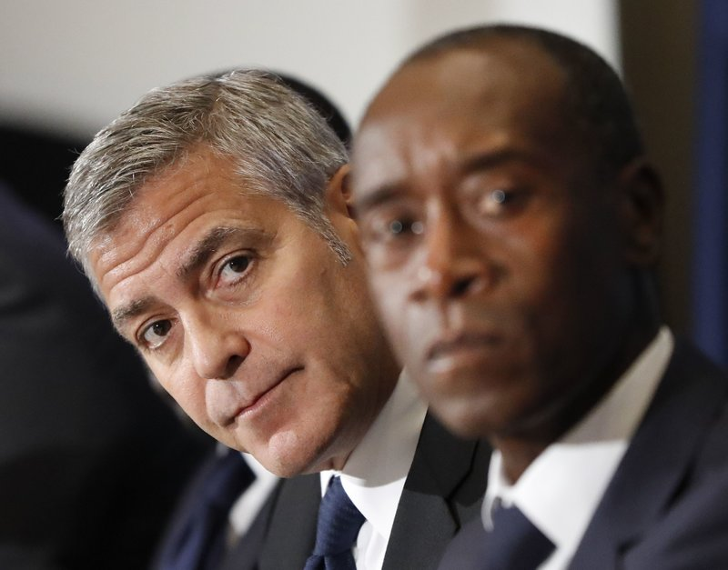 George Clooney, Don Cheadle