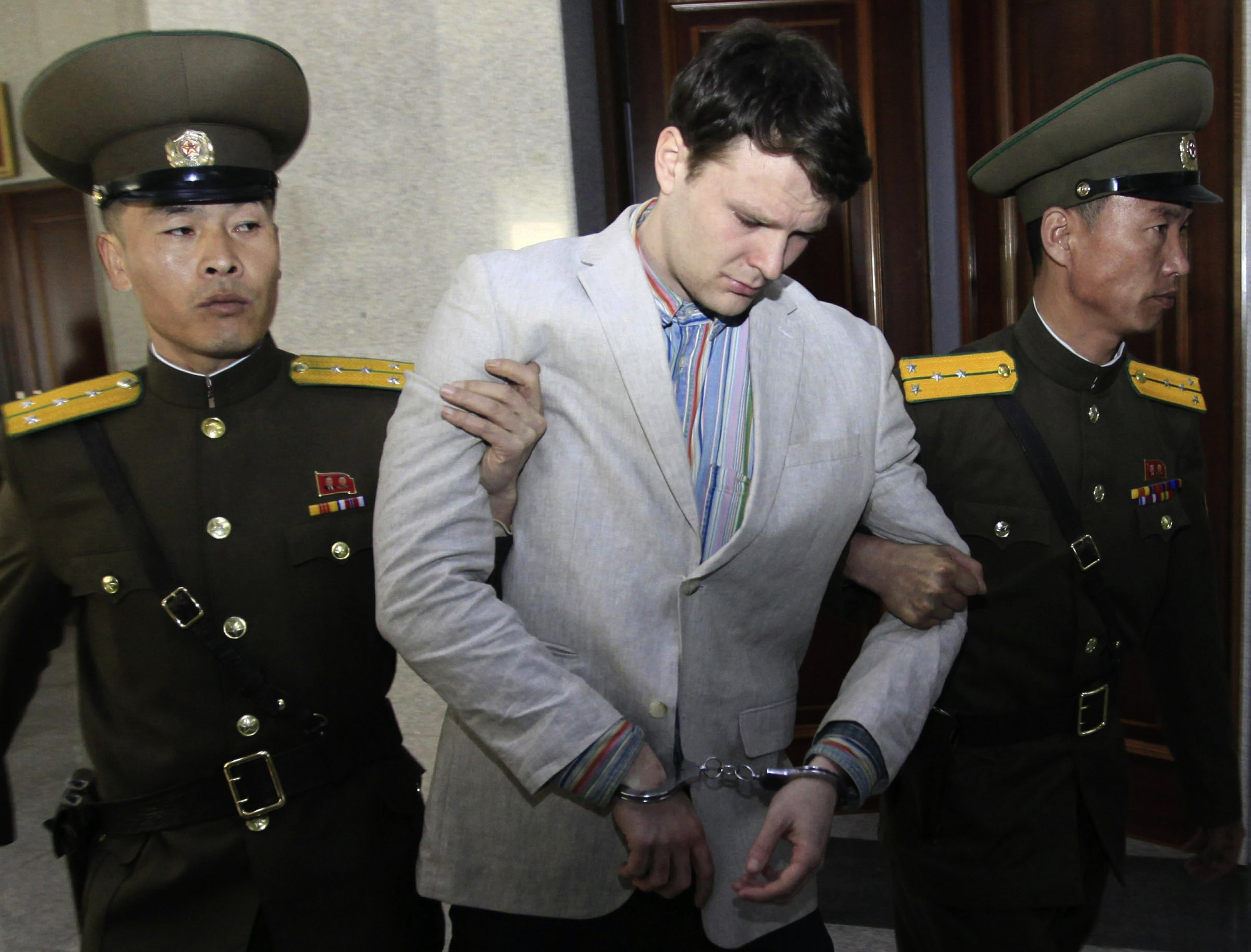 Cause of Ohio man's death in North Korea may never be known
