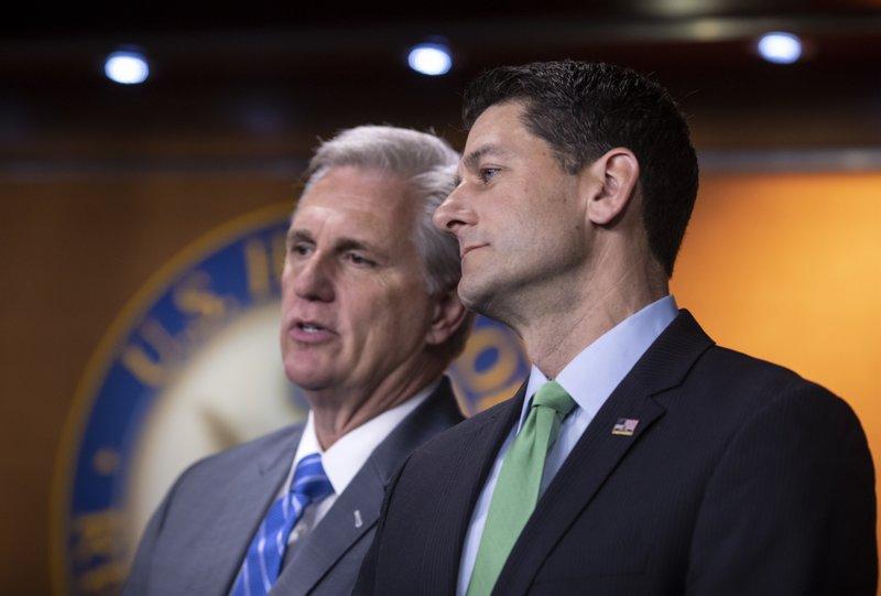 Paul Ryan, Kevin McCarthy