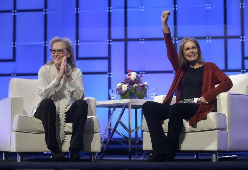 Meryl Streep, Gloria Steinem