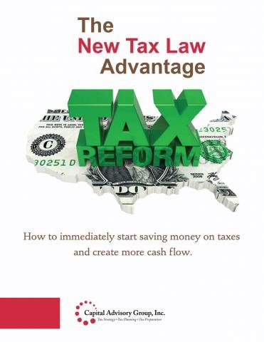 The New Tax Law Advantage Reveals Tax Strategy for Business Owners and Investors