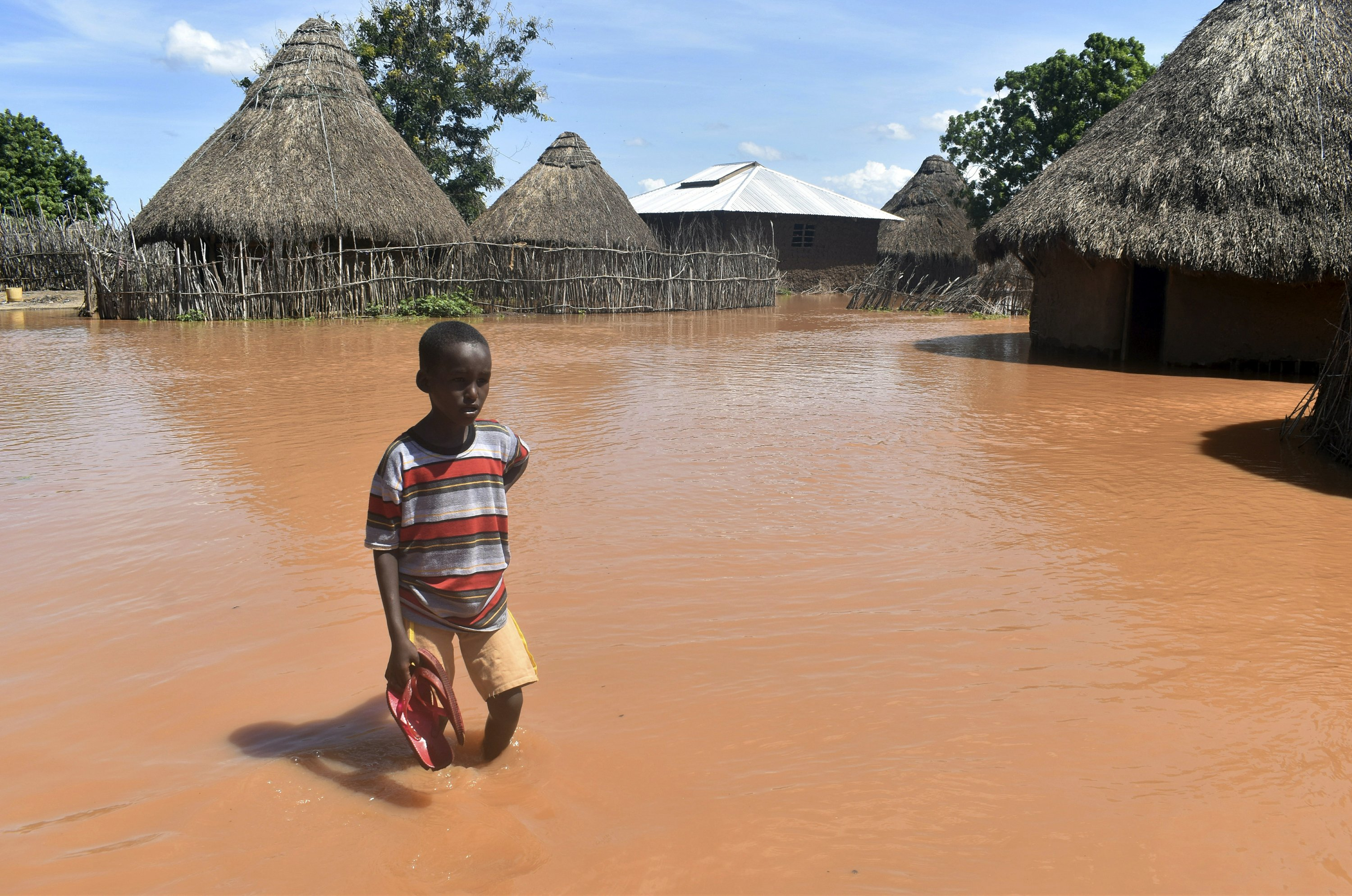 6 dead in Kenya overnight flooding with 11 others missing