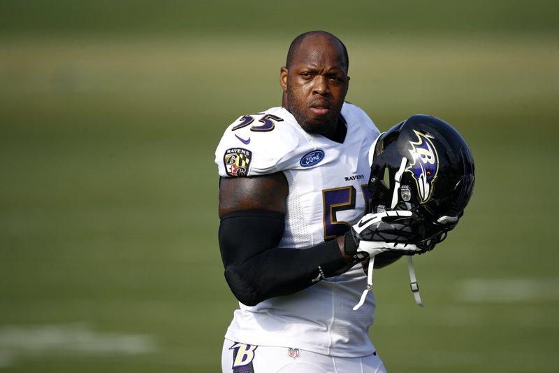Veteran sack-master Suggs makes case to join Ravens elite
