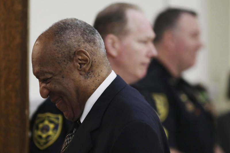 Actor and comedian Bill Cosby arrives for the sixth day of his sexual assault retrial at the Montgomery County Courthouse in Norristown, Pennsylvania