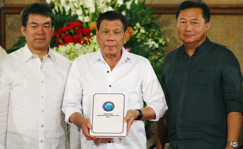 Rodrigo Duterte, Aquilino Pimentel Jr., Pantaleon Alvarez