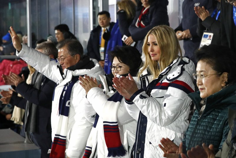 Kim Jung-sook, Moon Jae-in, Ivanka Trump, Liu Yandong