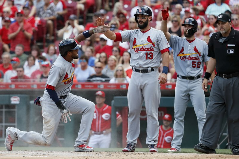 Jose Martinez, Matt Carpenter, Michael Wacha
