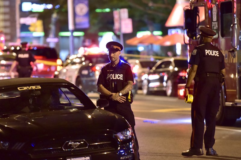 2 Dead, 13 Wounded In Shooting Attack In Toronto 800