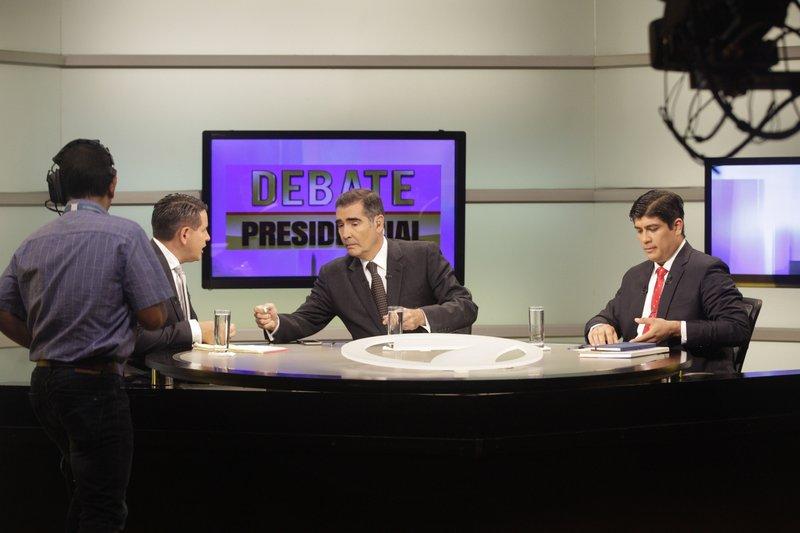 Fabricio Alvarado, Carlos Alvarado, Ignacio Santos