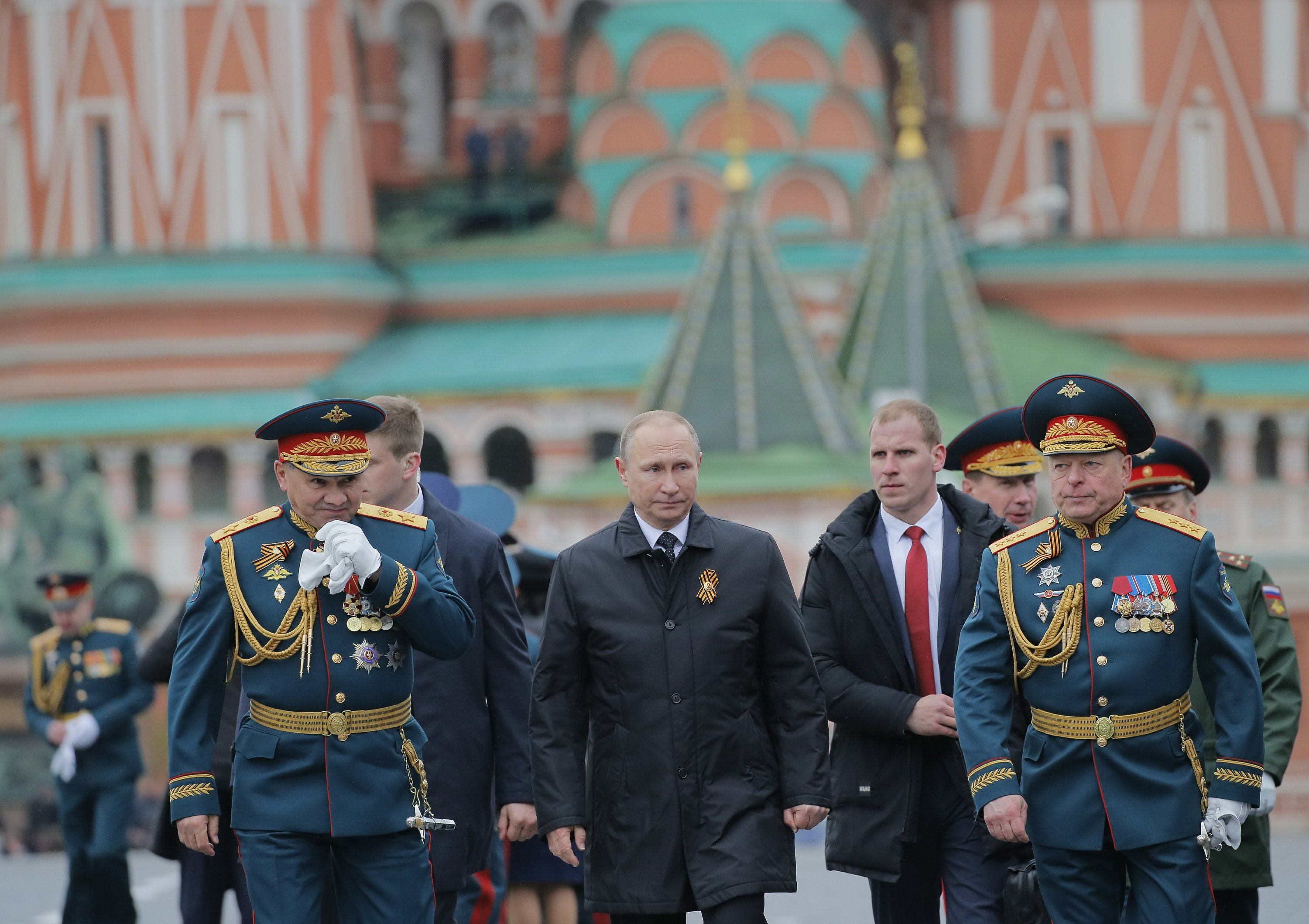 Putin pide unidad internacional en el Día de la Victoria