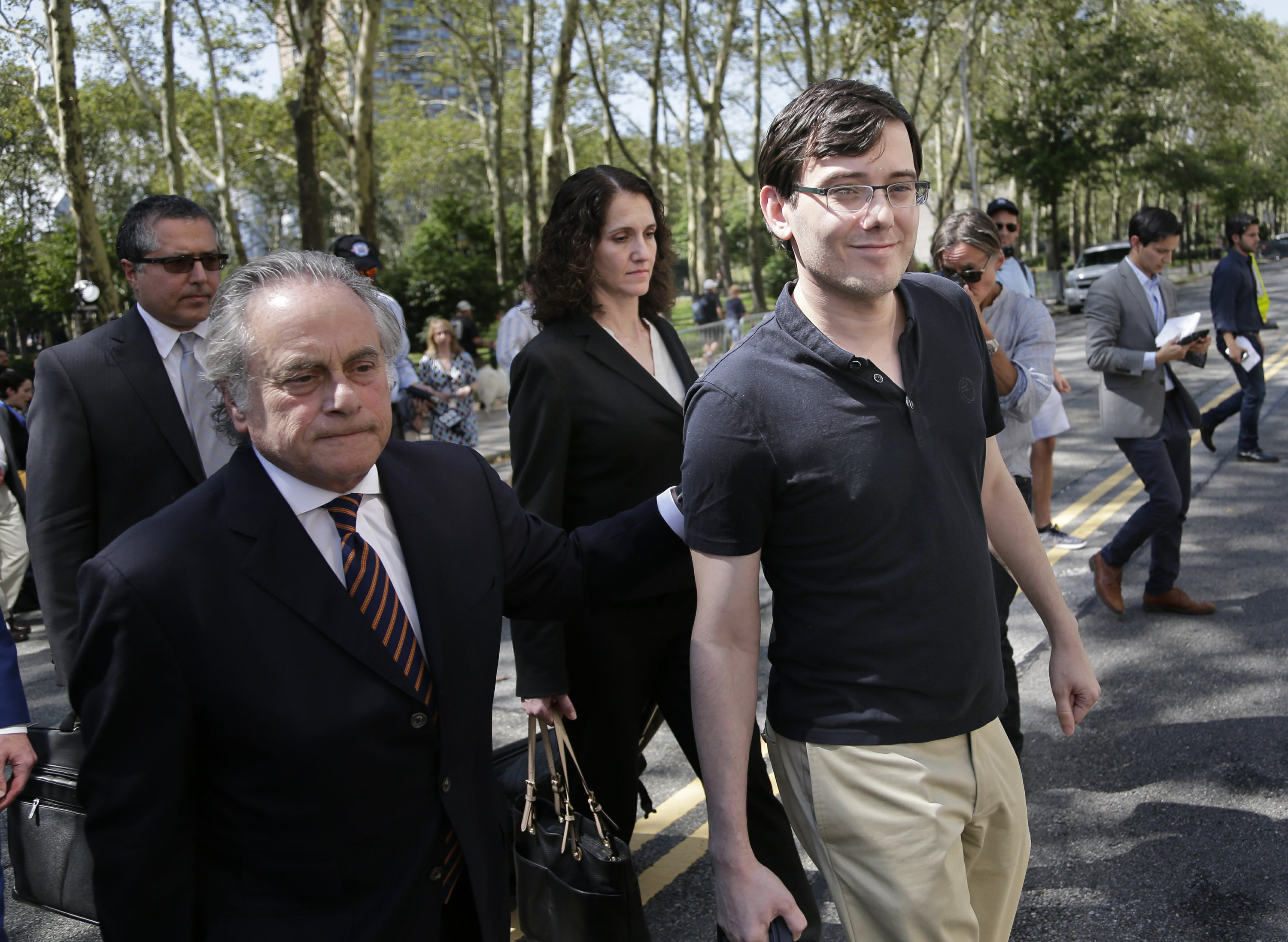 Convicted 'Pharma Bro' has an image problem, lawyer concedes