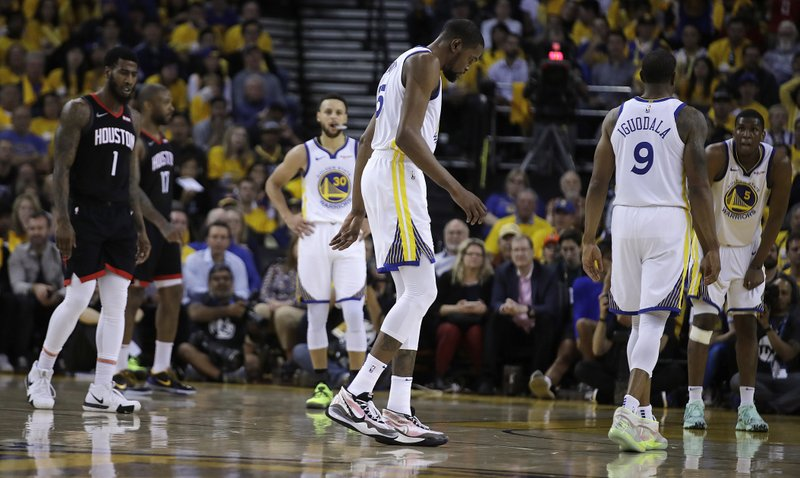 971374cfef79 Warriors  Durant likely out for Games 1 and 2 vs Blazers