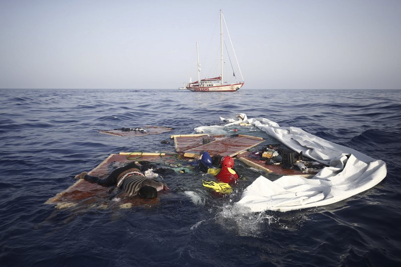 Survivor 2 Bodies From Migrant Boat Wreck Arrive In Spain