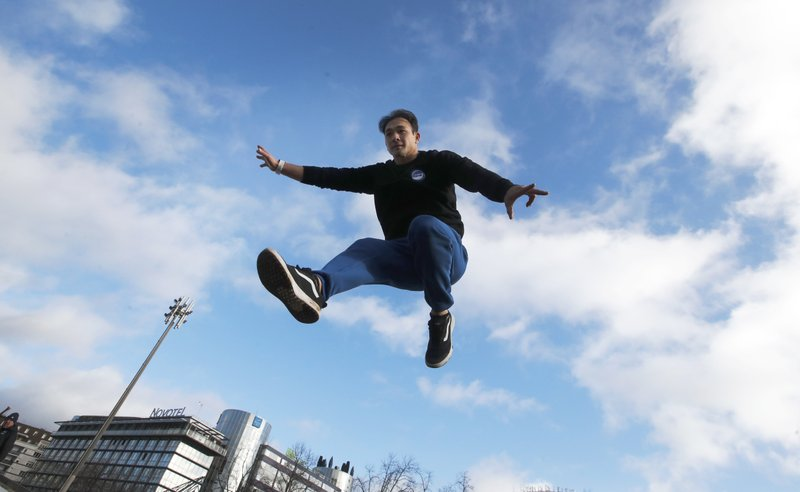 Eyeing 2024, gymnastics makes moves on free-spirited parkour