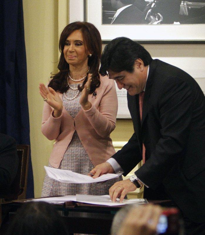 Cristina Fernandez, Carlos Zannini
