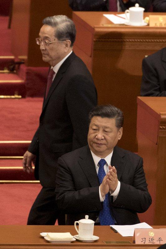 Yu Zhengsheng, Xi Jinping