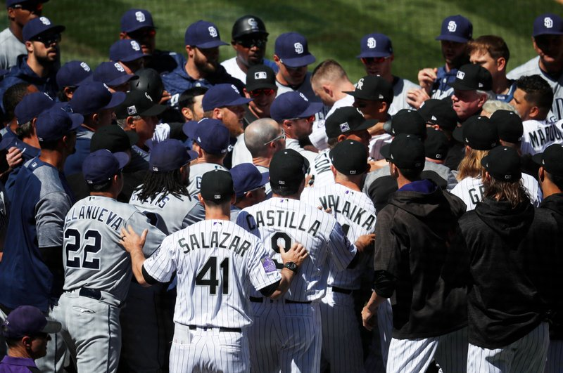 Colorado Rockies, San Diego Padres