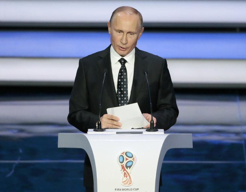 Putin S World Cup A Prestige Boost For Sanctions Hit Host
