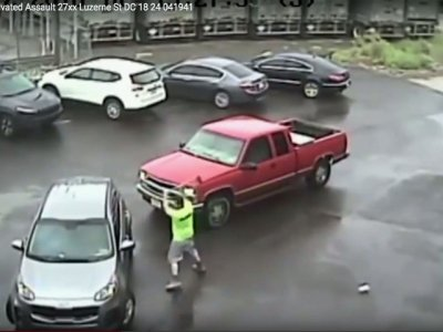Raw: Video of Philadelphia Sledgehammer Attack