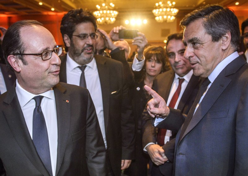 Hollande et le « cabinet noir la polémique lancée par fillon en