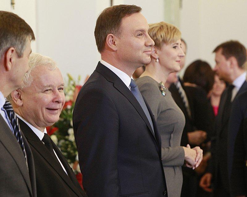 Andrzej Duda, Jaroslaw Kaczynski