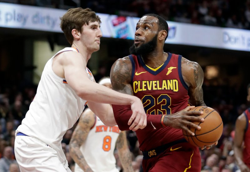 LeBron James, Luke Kornet