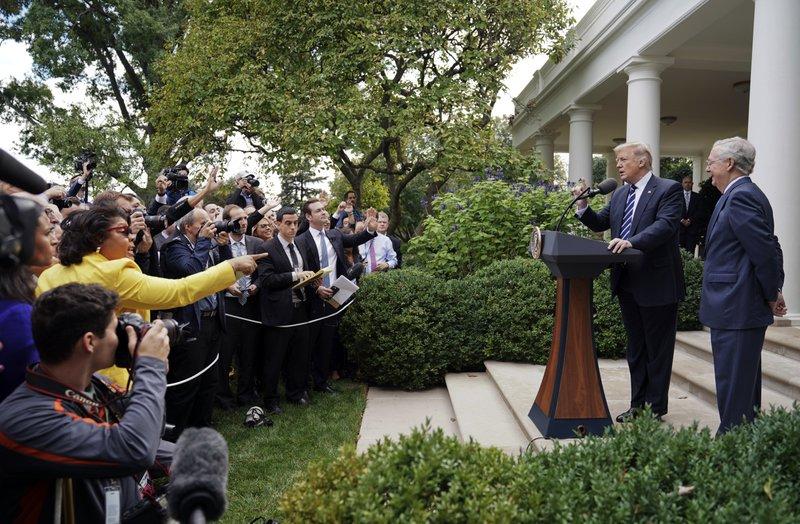 Donald Trump, Mitch McConnell, April Ryan