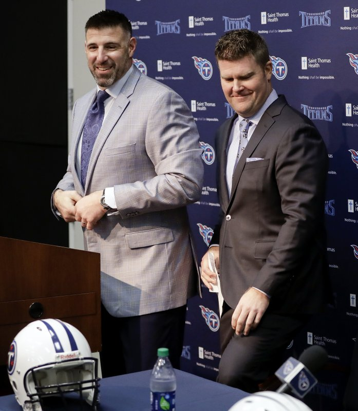 Mike Vrabel, Jon Robinson