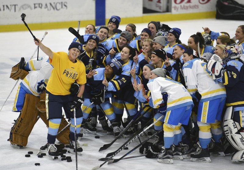 Apnewsbreak Commish 1 Women S Hockey League Inevitable