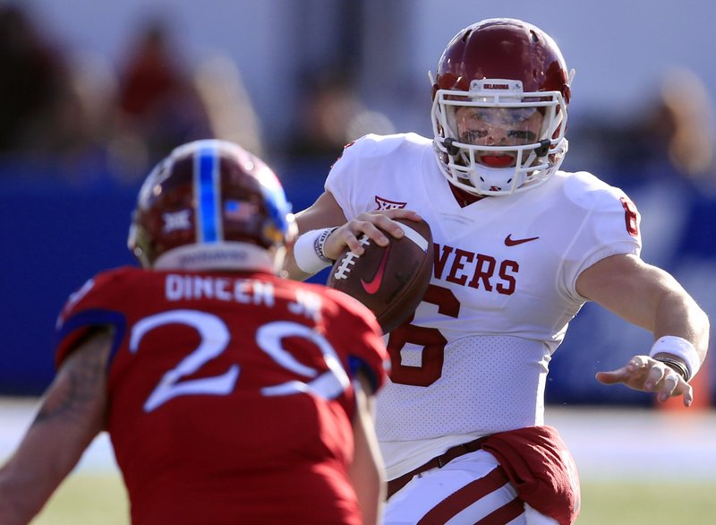 Baker Mayfield, Joe Dineen Jr.