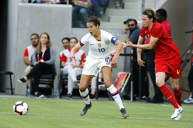 Carli Lloyd Still Driven To Fight For More World Cup Glory