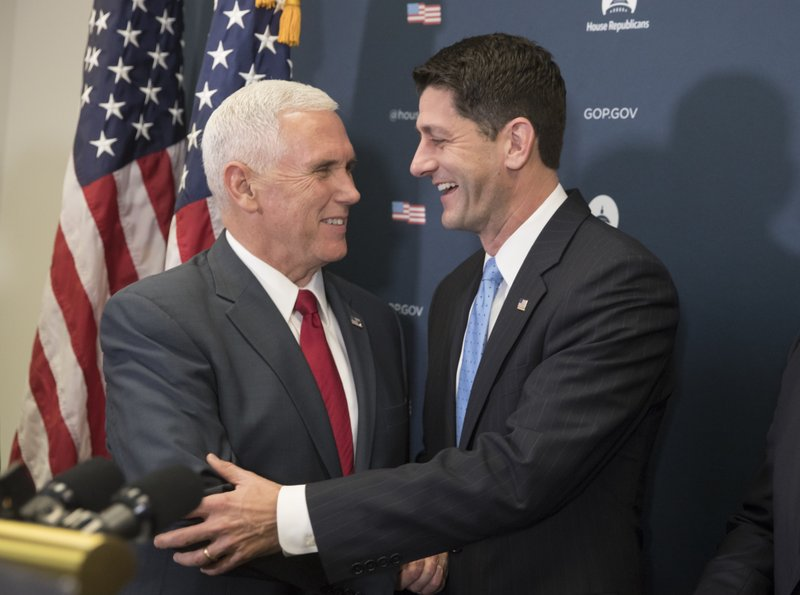 Paul Ryan, Mike Pence