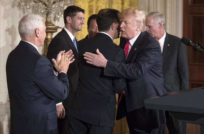 Donald Trump, Paul Ryan, Scott Walker, Mike Pence, Terry Gou, Ron Johnson