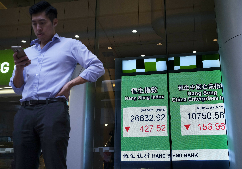 Las acciones de Asia se hunden tras la venta masiva de Wall Street