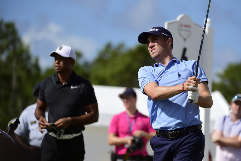 Justin Thomas, Tiger Woods