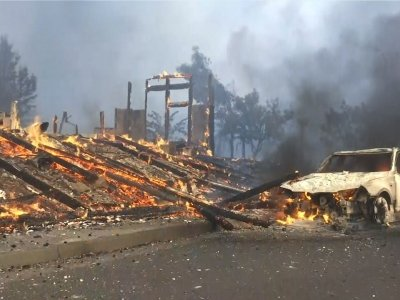 Wildfires Destroy More Than 1500 Structures