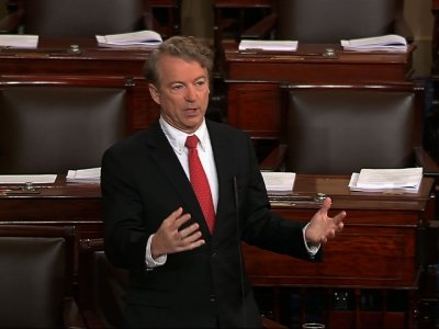 Sen. Rand Paul Sets to Block Budget Vote