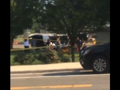 Amateur Video Captures Shooting Aftermath