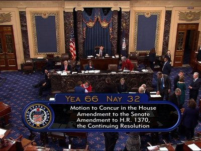 Congress Votes to Keep Government Open