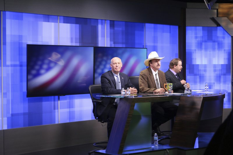 Greg Gianforte, Rob Quist, Mark Wicks