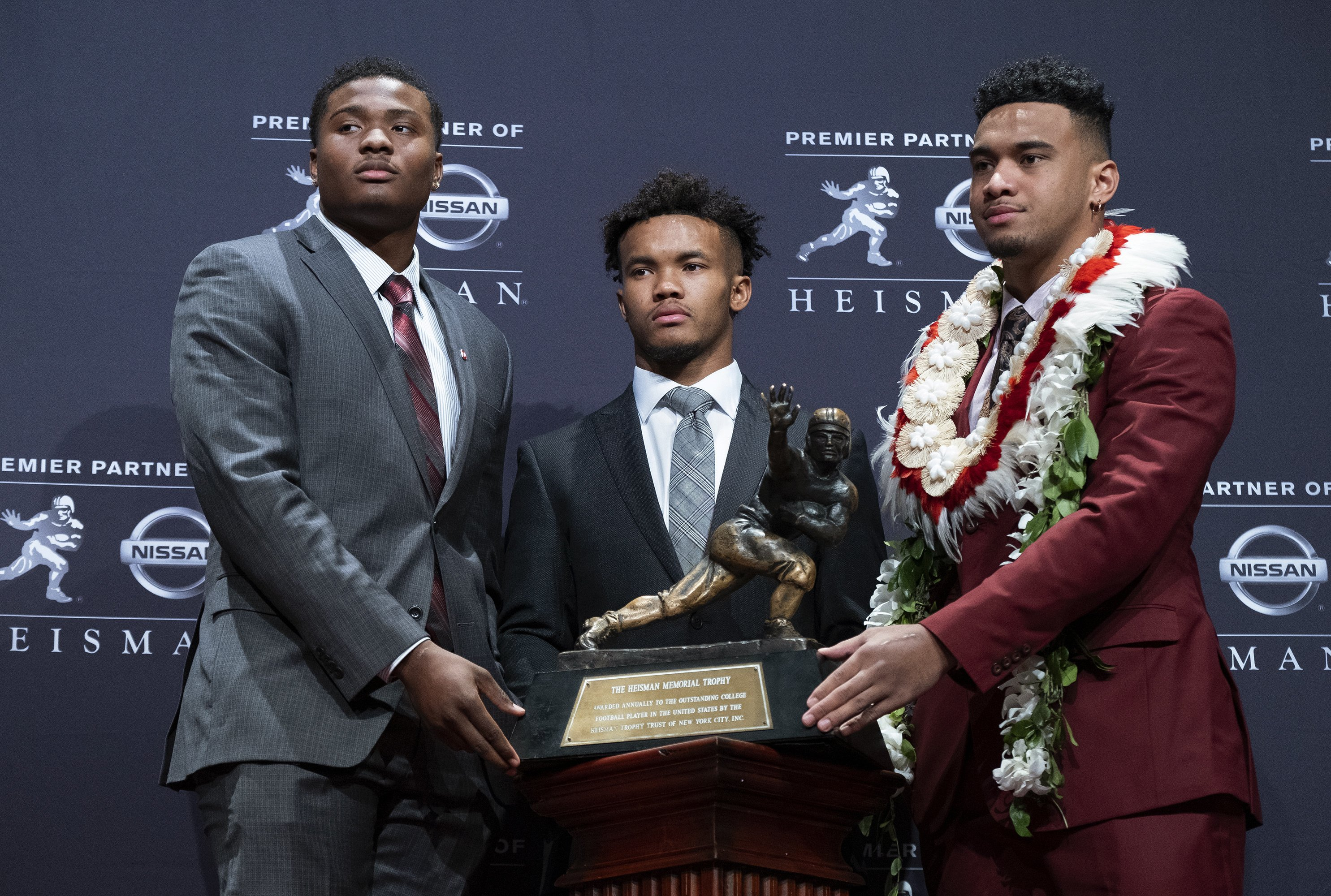Who will challenge Tagovailoa for Heisman Trophy in 2019?