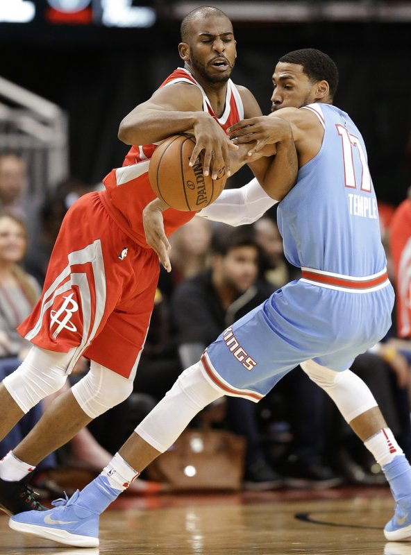 Chris Paul, Garrett Temple