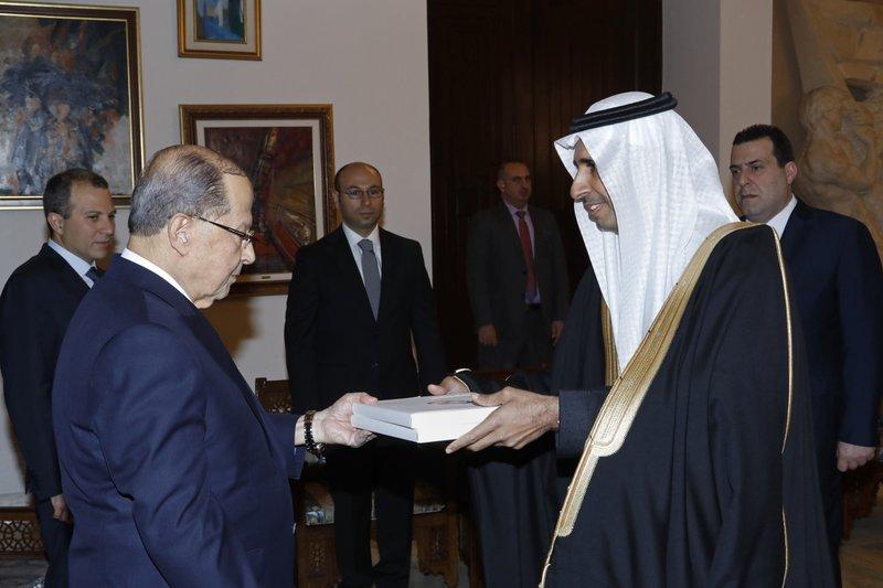 Michel Aoun, Walid al-Yaacoubi