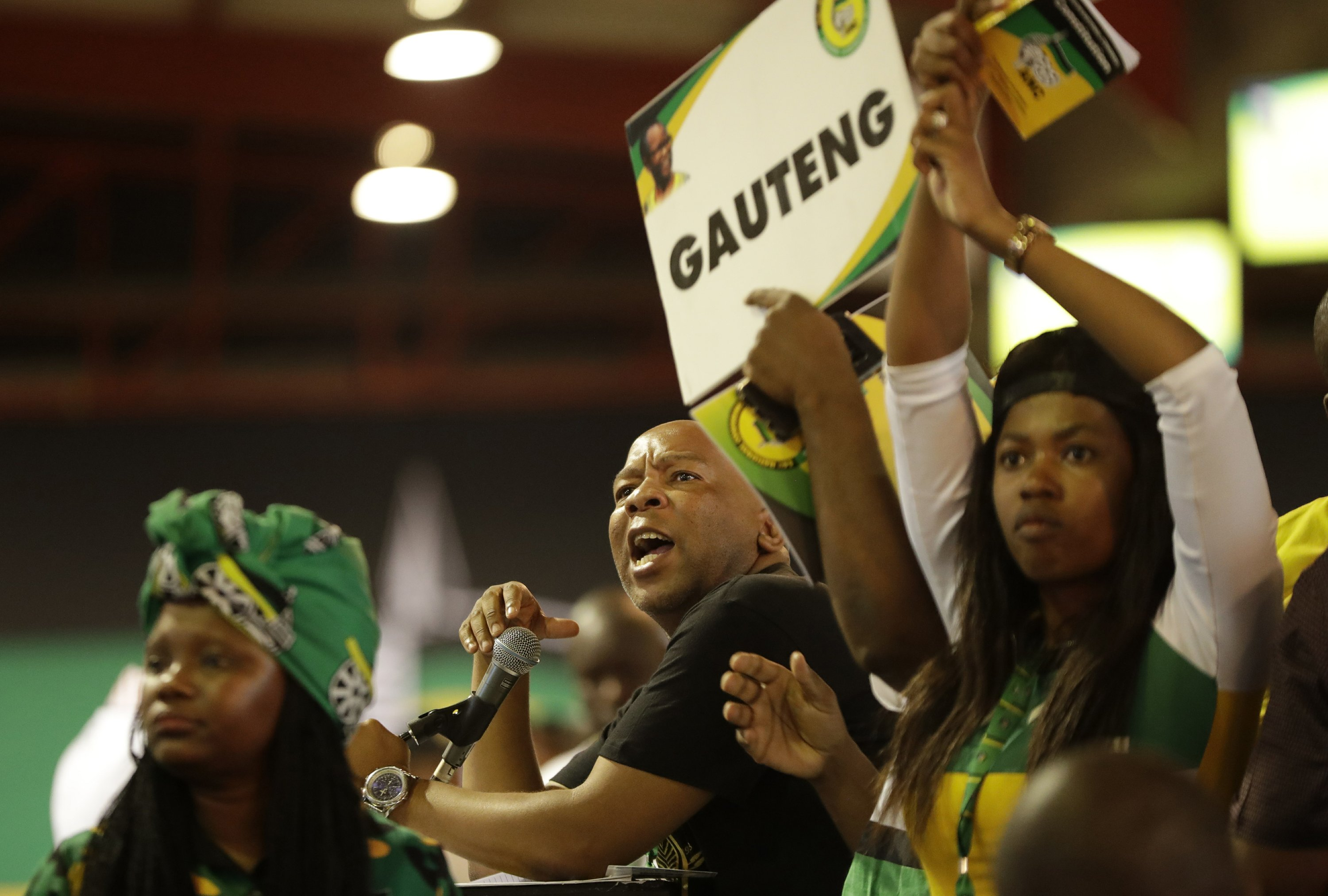 South Africa's ruling ANC party votes for new leader Monday