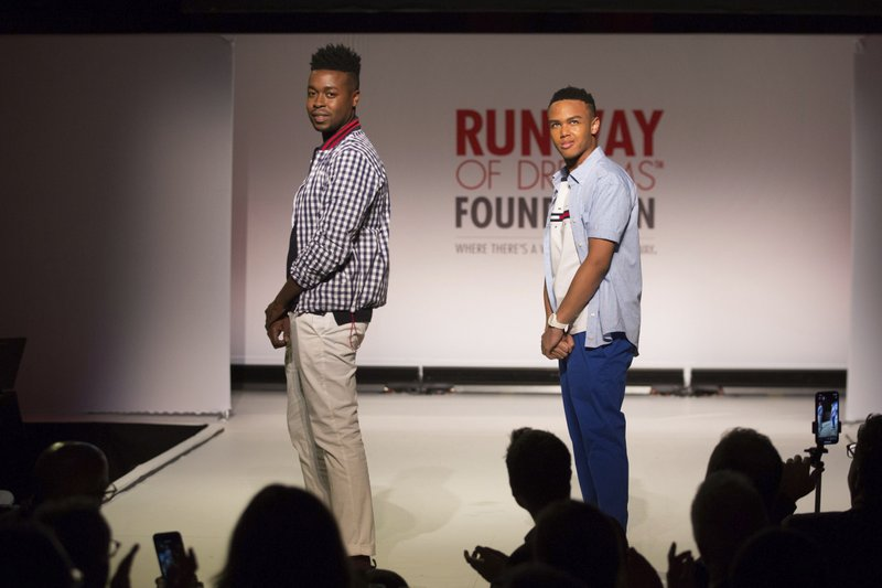 df94c871e The Runway of Dreams collection is modeled Wednesday, Sept. 5, 2018, during  Fashion Week in New York. The runway show featured models with disabilities  ...