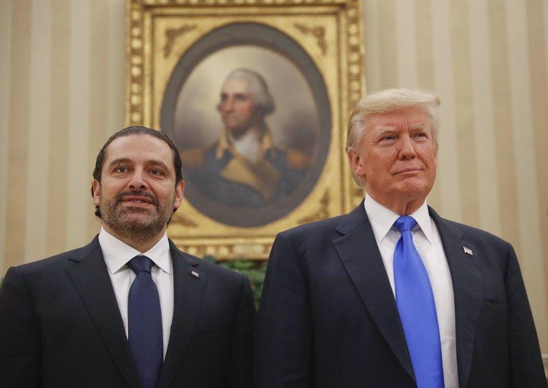Donald Trump, Saad Hariri