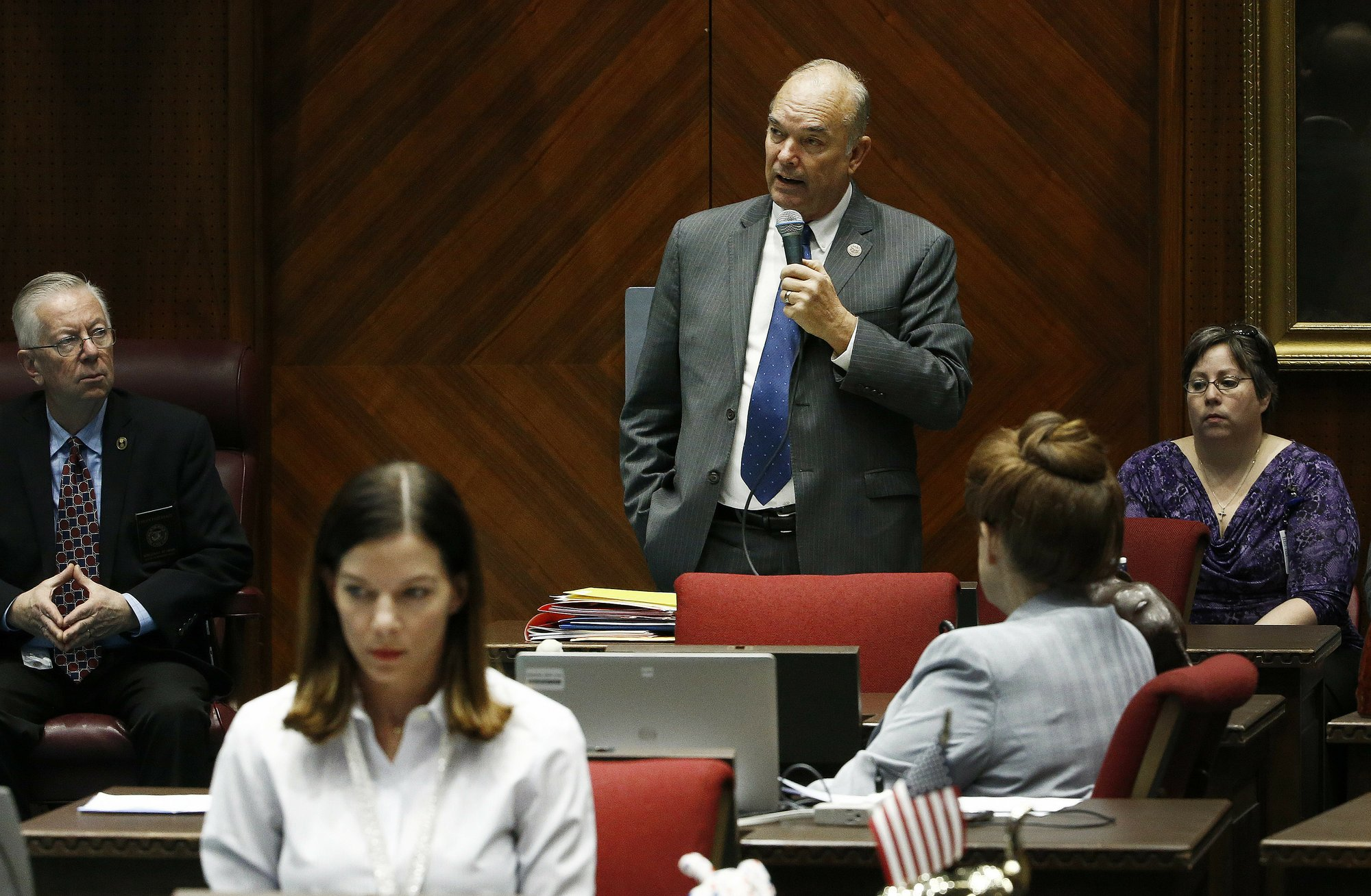 3 aides say assemblyman sexually harassed them
