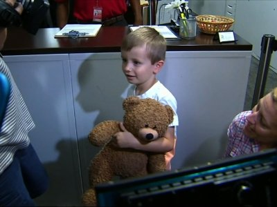 Texas Boy Reunited With His Lost Teddy Bear