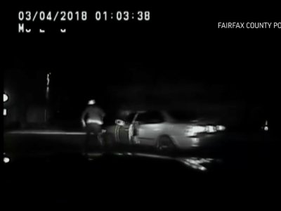Drunk Man Runs From Cops, Gets Hit by Own Car